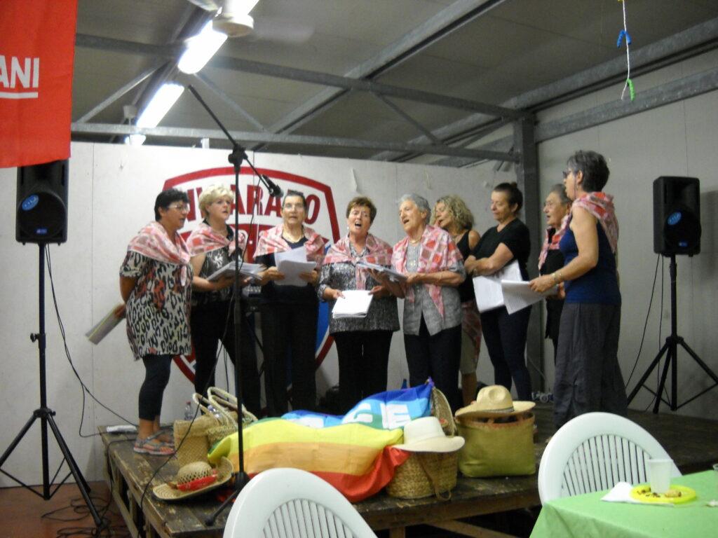 Coro delle Mondine di Porporana - canto