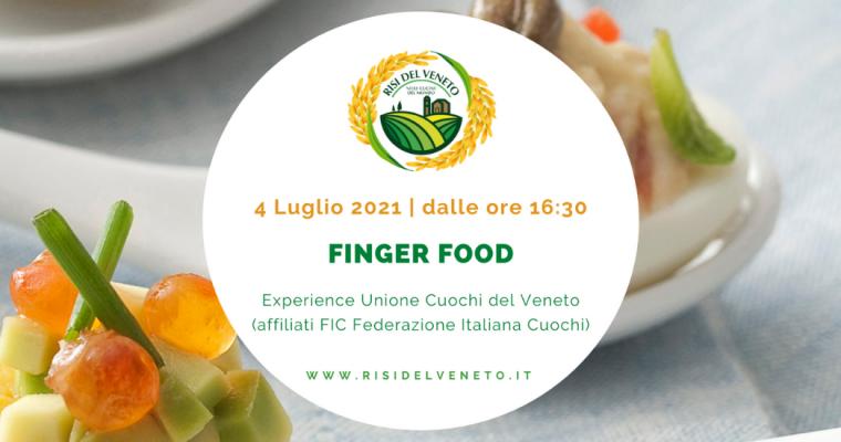 Unione Cuochi del Veneto: finger food